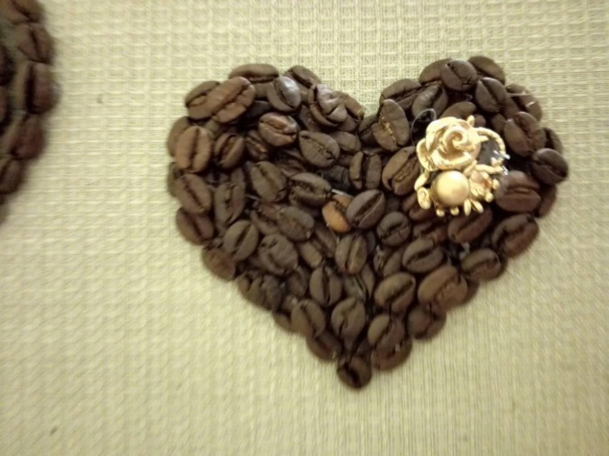 Поделки из семян кофе своими руками фото 59