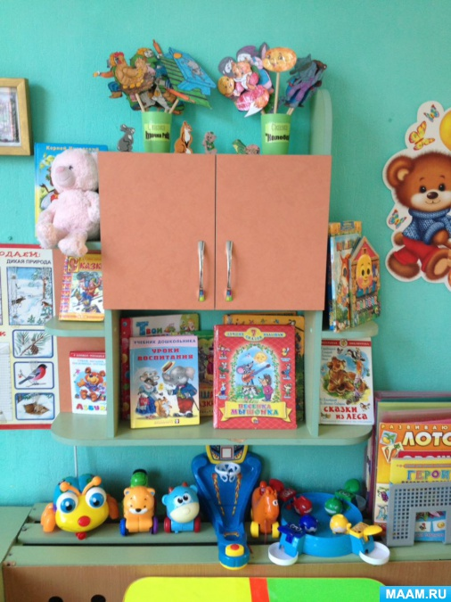 Оформление группы детского сада. Предметно-пространственная развивающая среда
