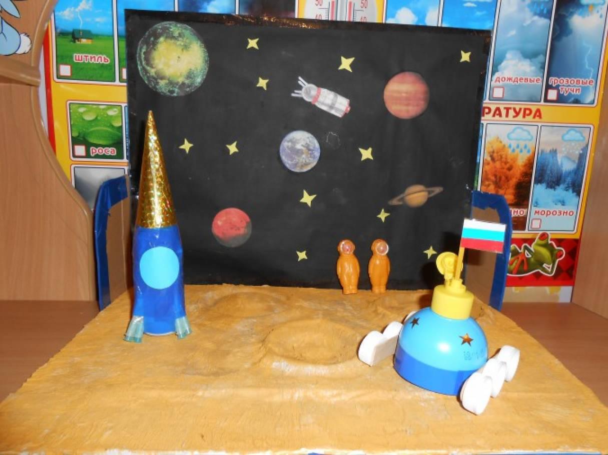 Макет космоса для детского сада своими руками 564