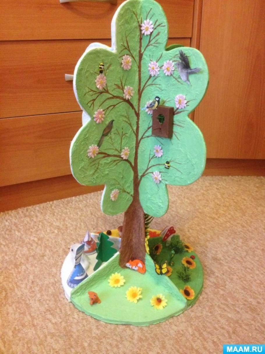 Сделать поделку дерево в детский сад