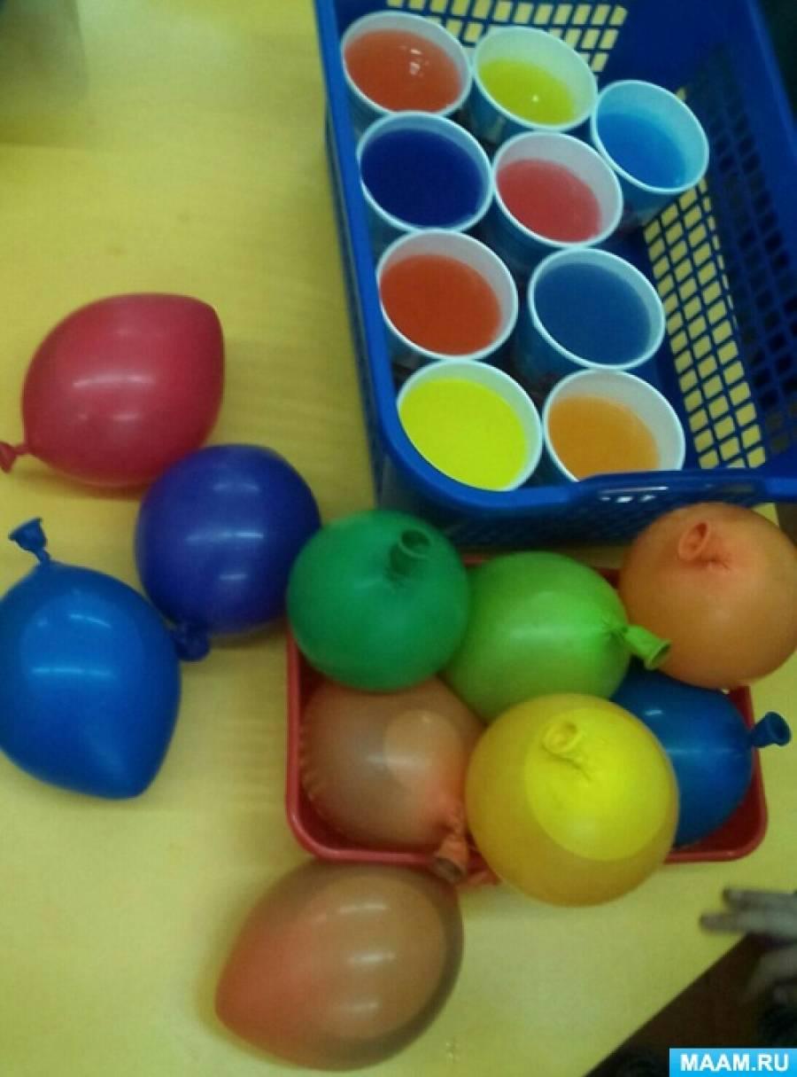 Конкурсы для детей с шарами с водой