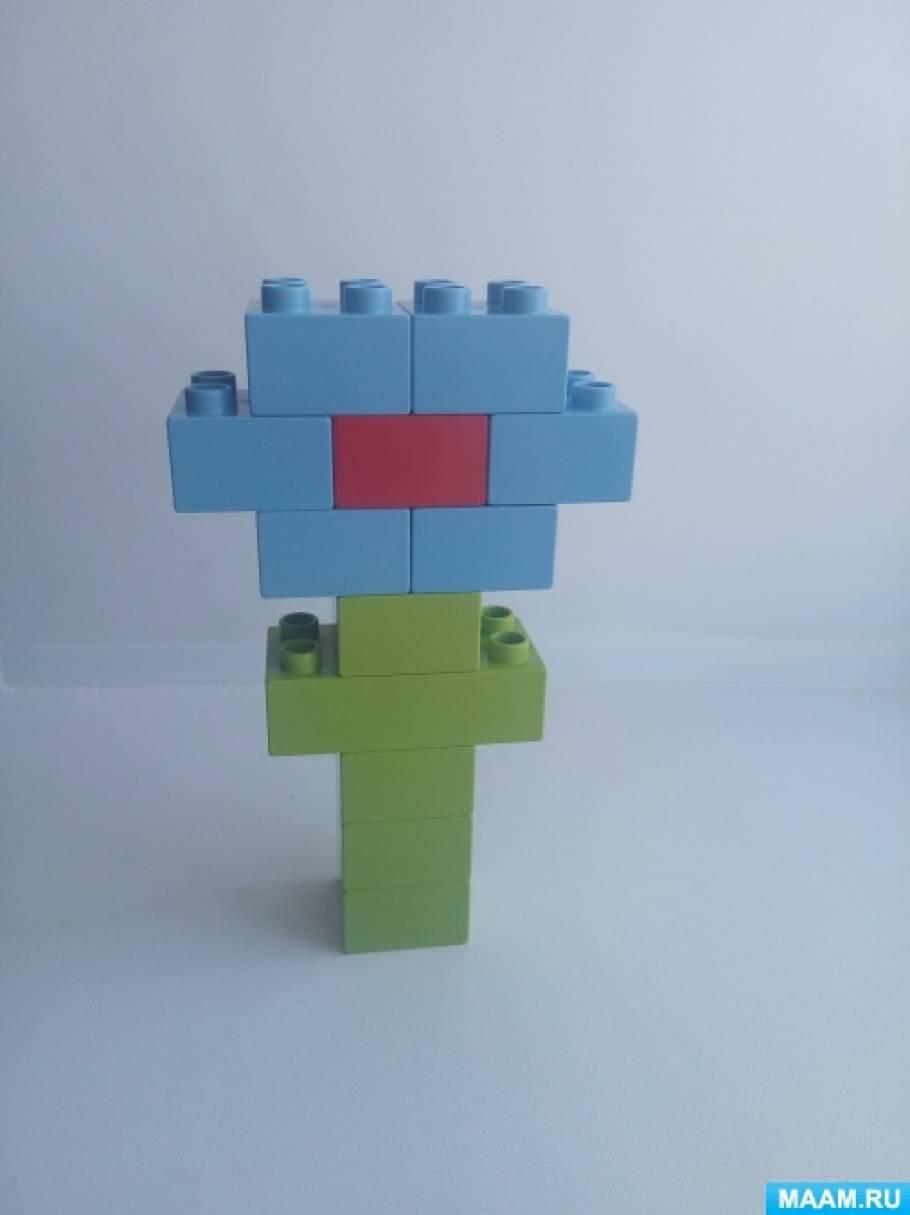Конспект занятия по Лего-конструированию «Весенние цветы» (старшая ...