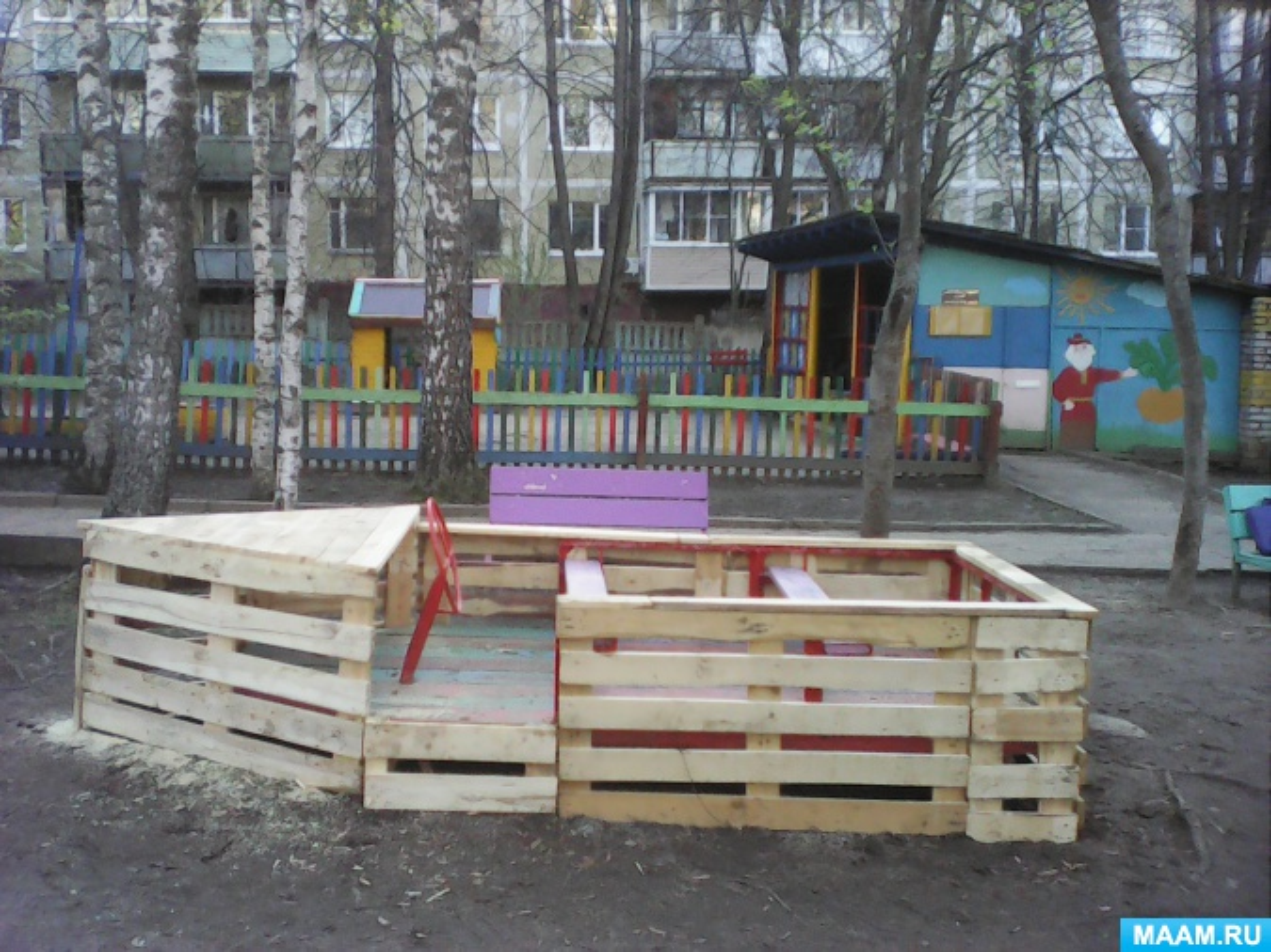 Проект «Благоустройство участка на территории ДОУ»