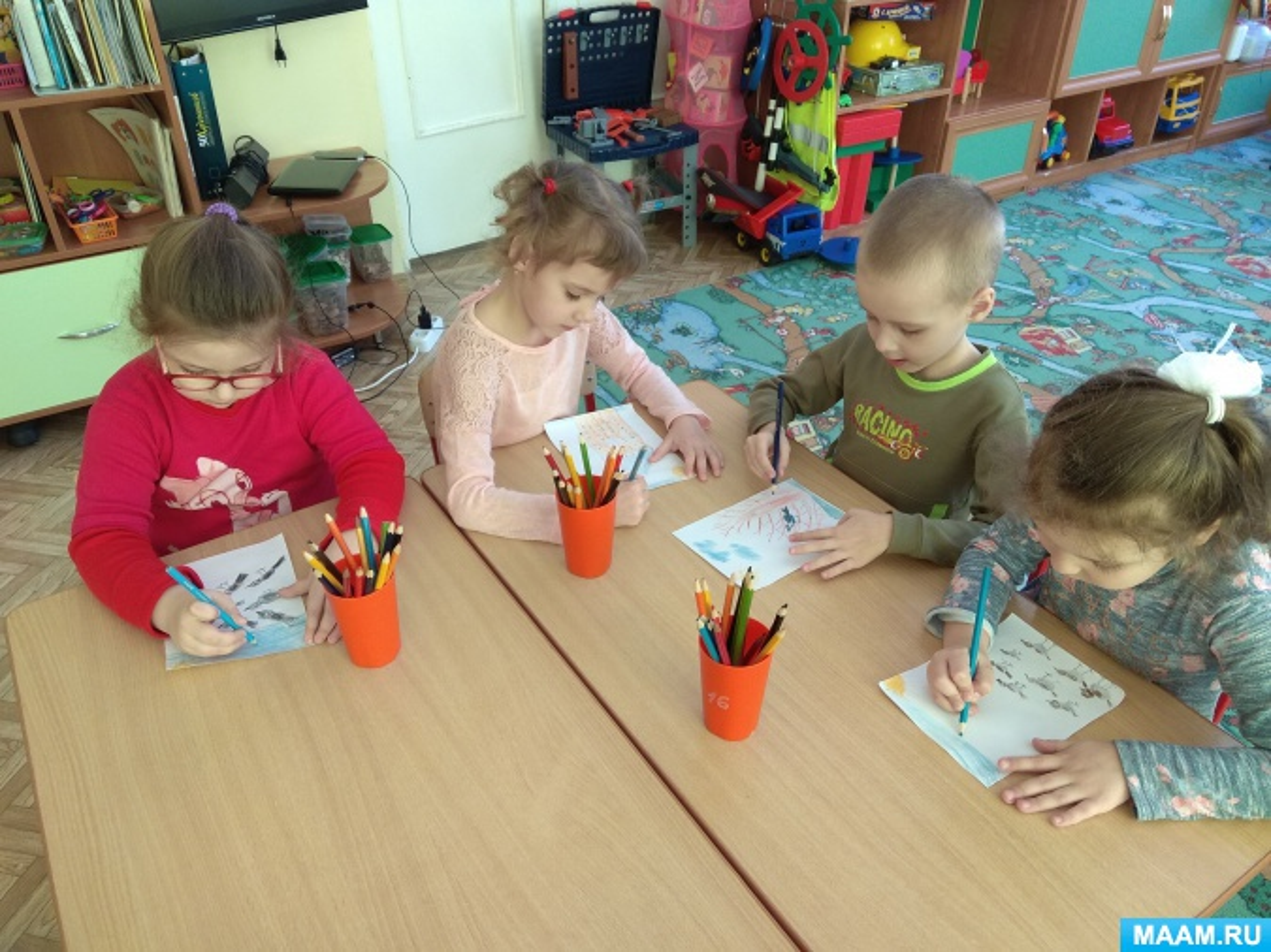 Конспект занятия по рисованию «Книжки-малышки малышам»