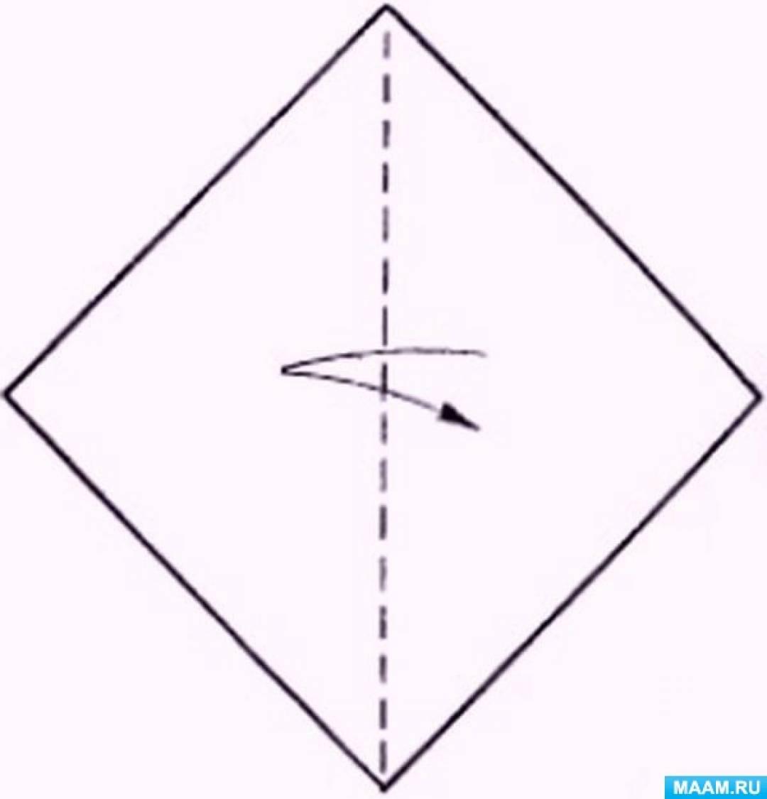 «Парусник». Конспект НОД по конструированию из бумаги способом оригами для детей средней группы