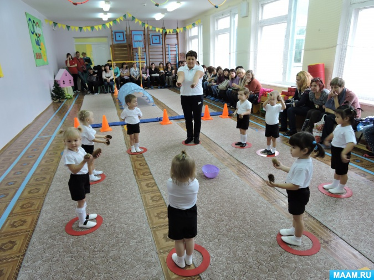 Конспект непрерывной образовательной деятельности по физическому развитию в группе раннего возраста «Заюшкина избушка»
