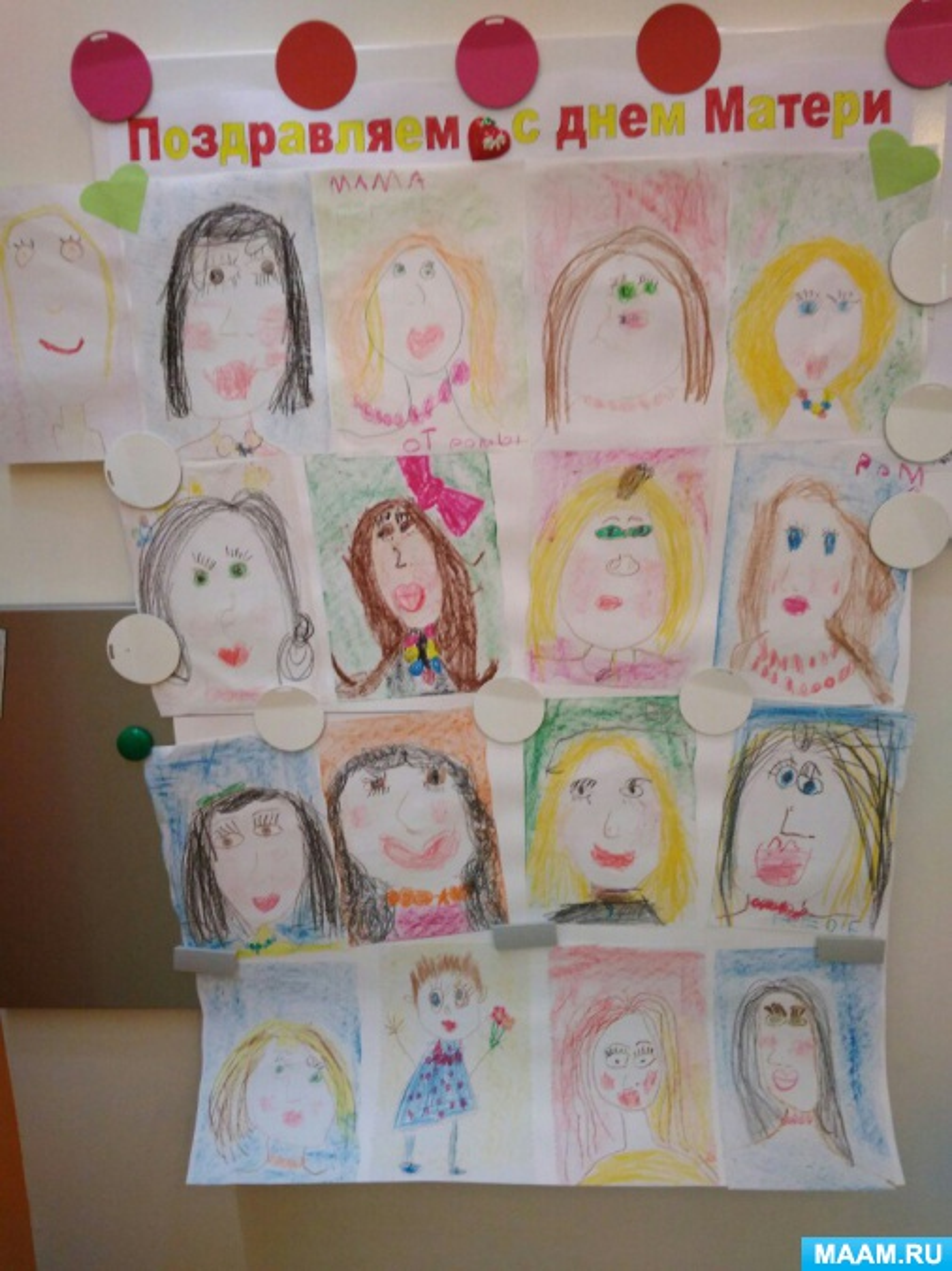 Портреты ко Дню Матери