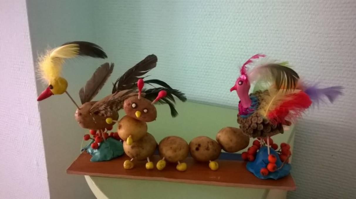Фотоотчёт о выставке «Осенняя сказка»