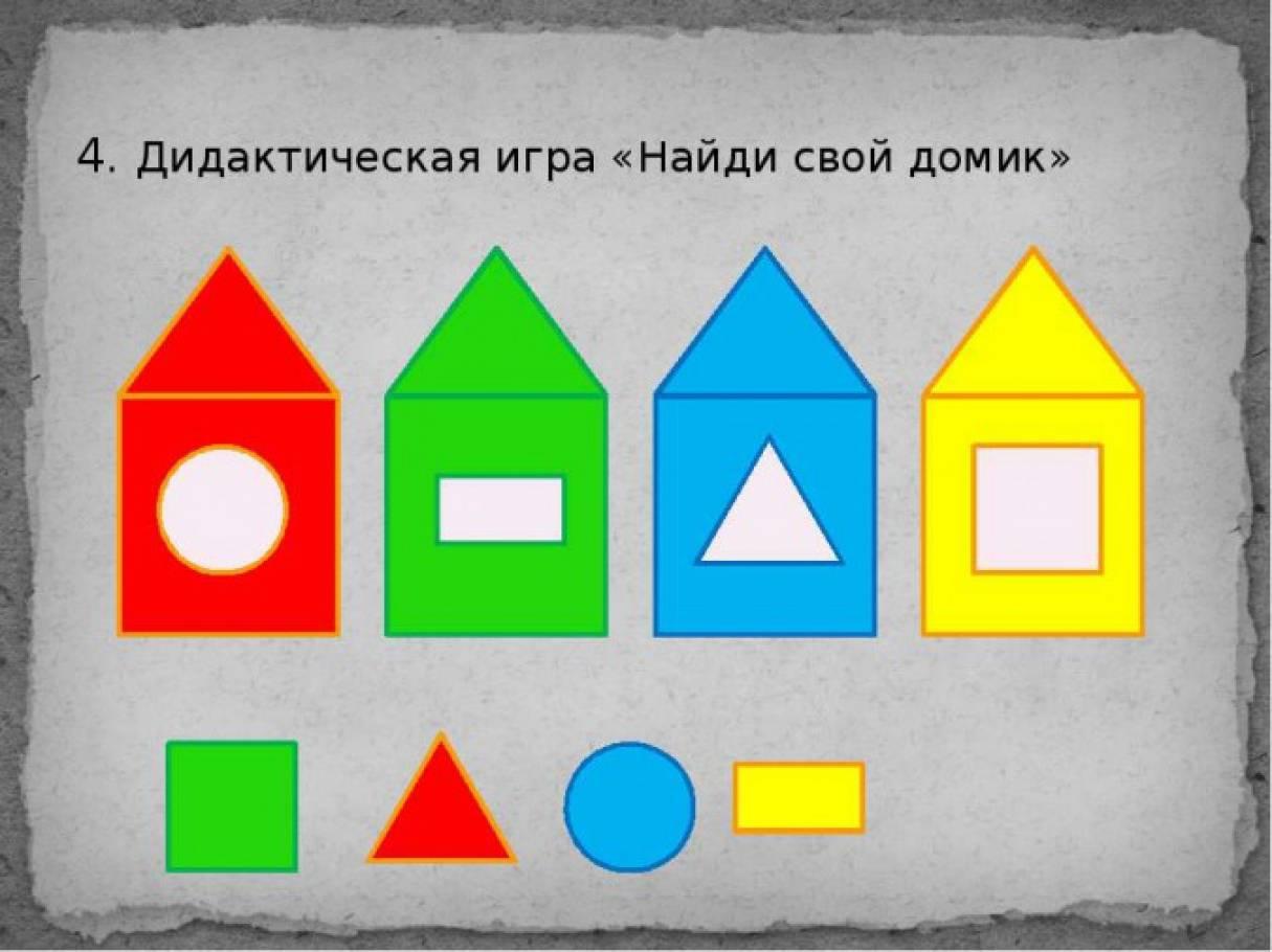 конспект театра геометрических фигур младшая группа