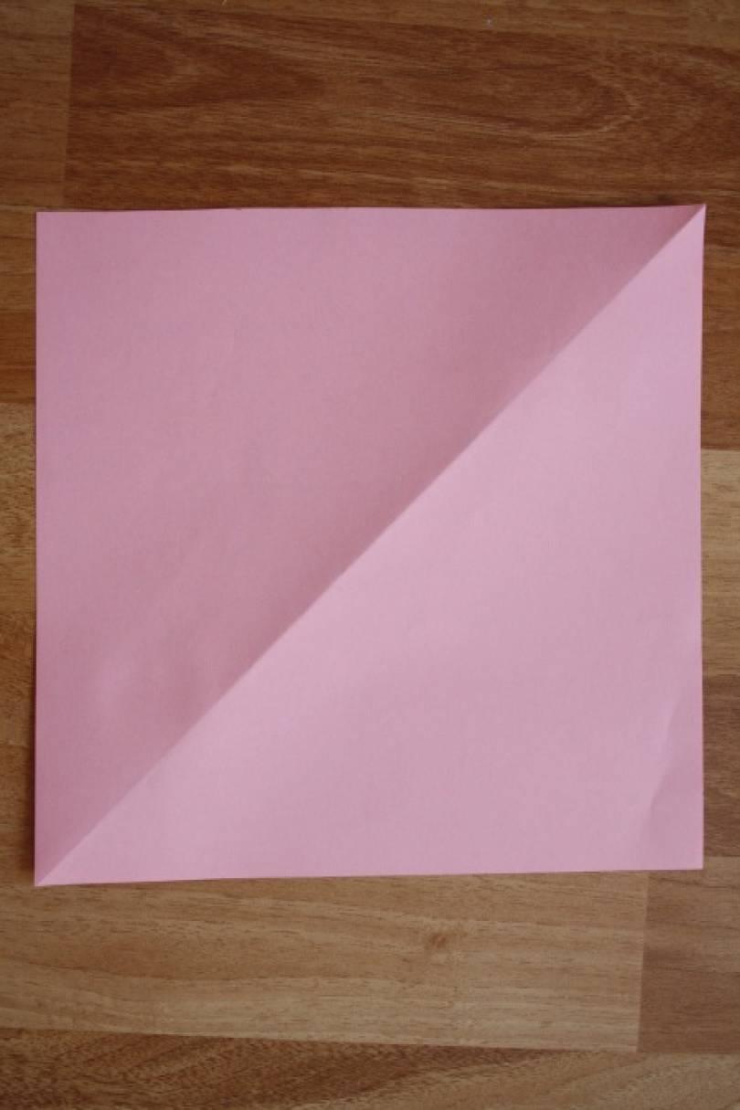 Мастер-класс в технике оригами «Собака-кусака»
