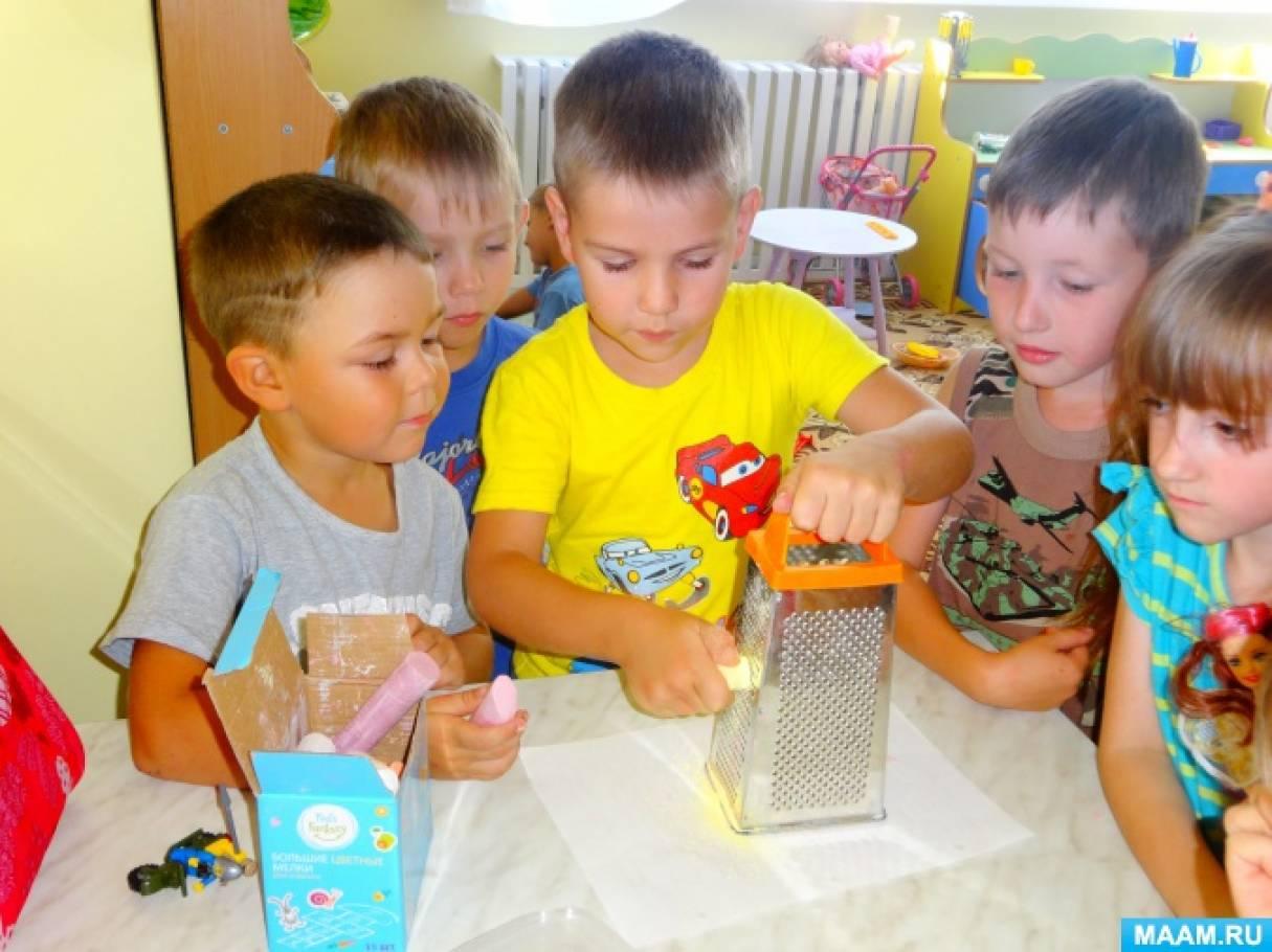 Конструкт совместной деятельности с детьми на экологической тропе «Песочная радуга»