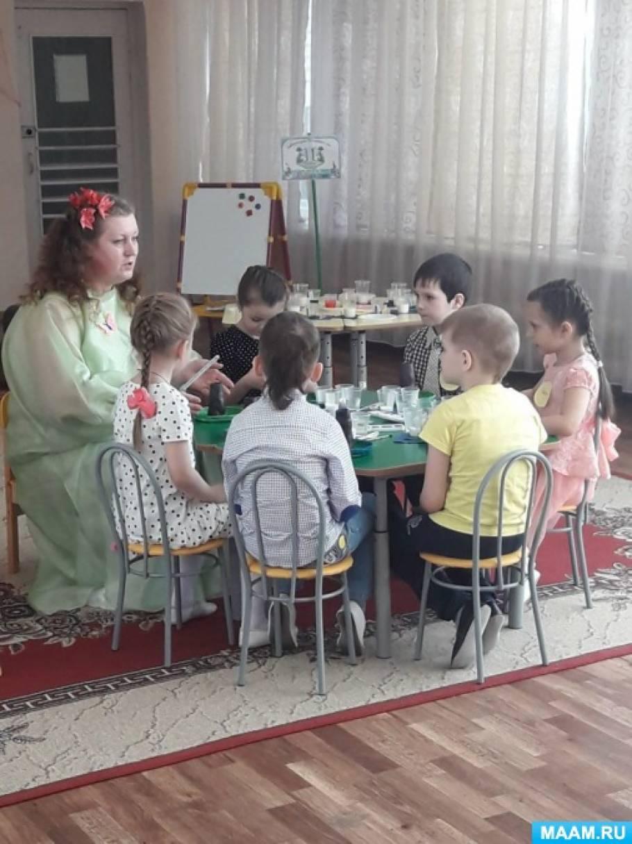 Поисково-исследовательская деятельность с детьми подготовительной группы «На помощь жителям Добряндии»
