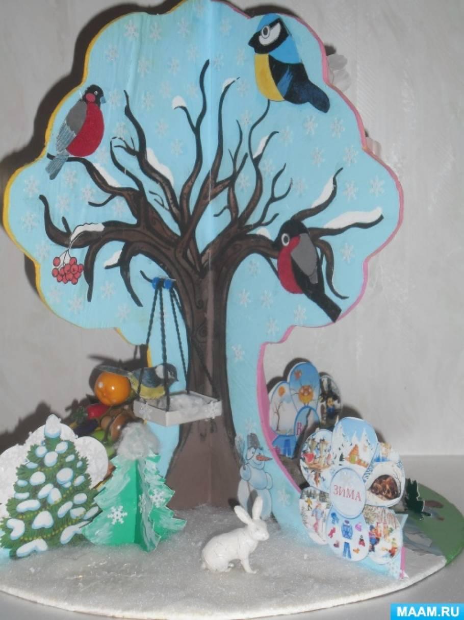 Дидактическое дерево «Времена года» для работы с дошкольниками