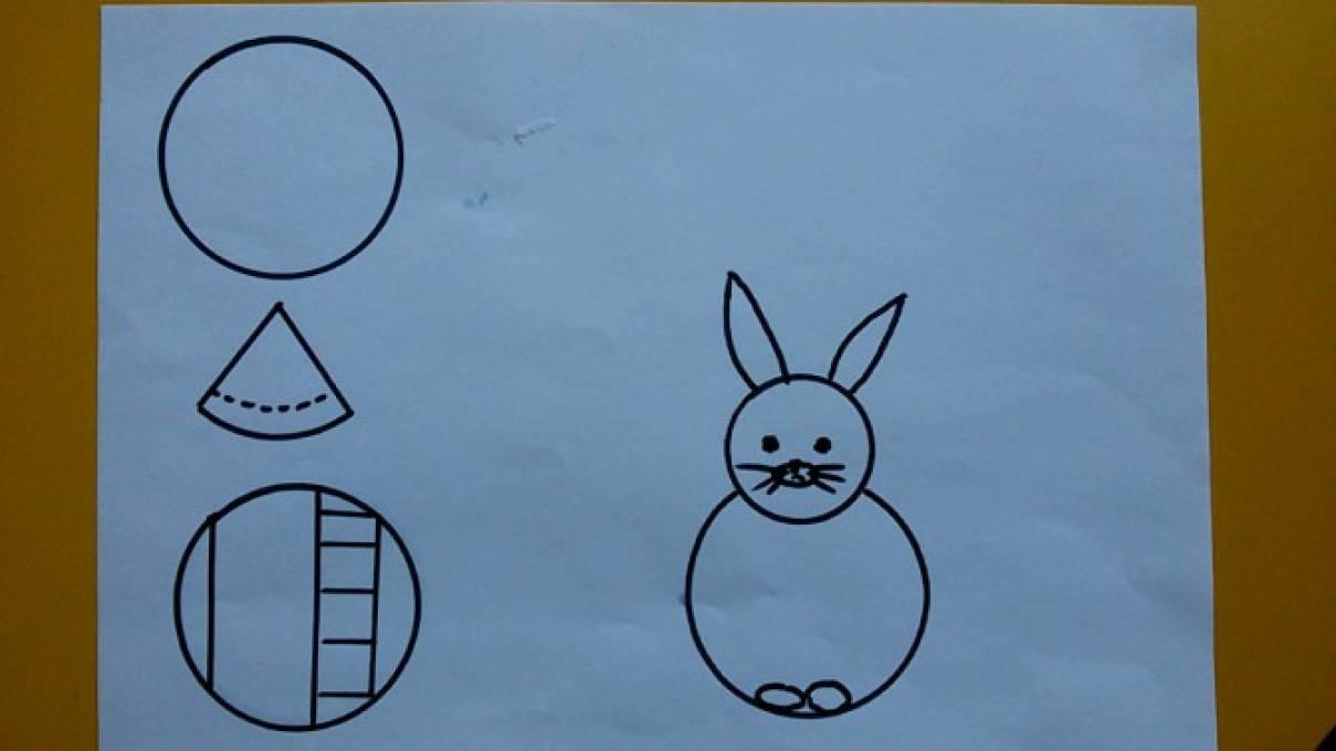 Картинки зайчики зимой для детей