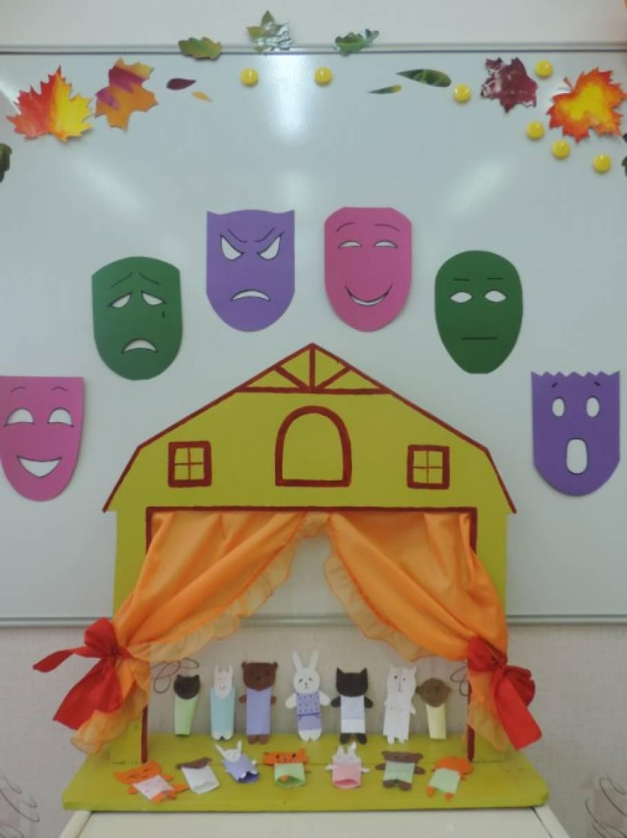 конспект занятия знакомство с театром в детском саду