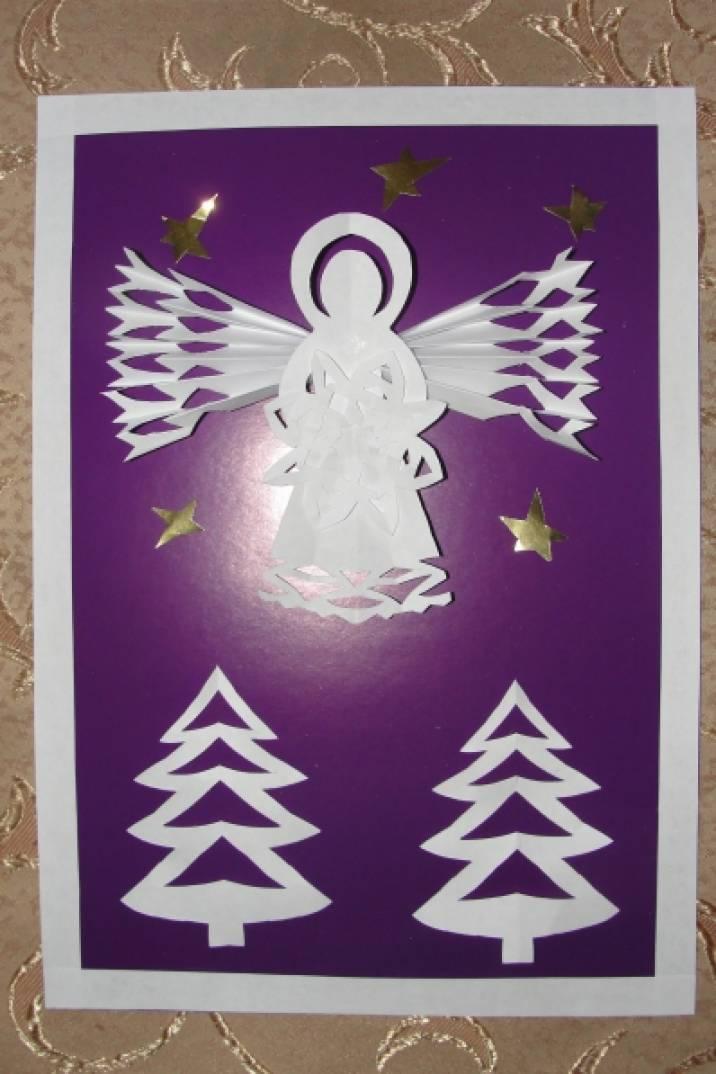 Ремонт, открытка своими руками ангелочки