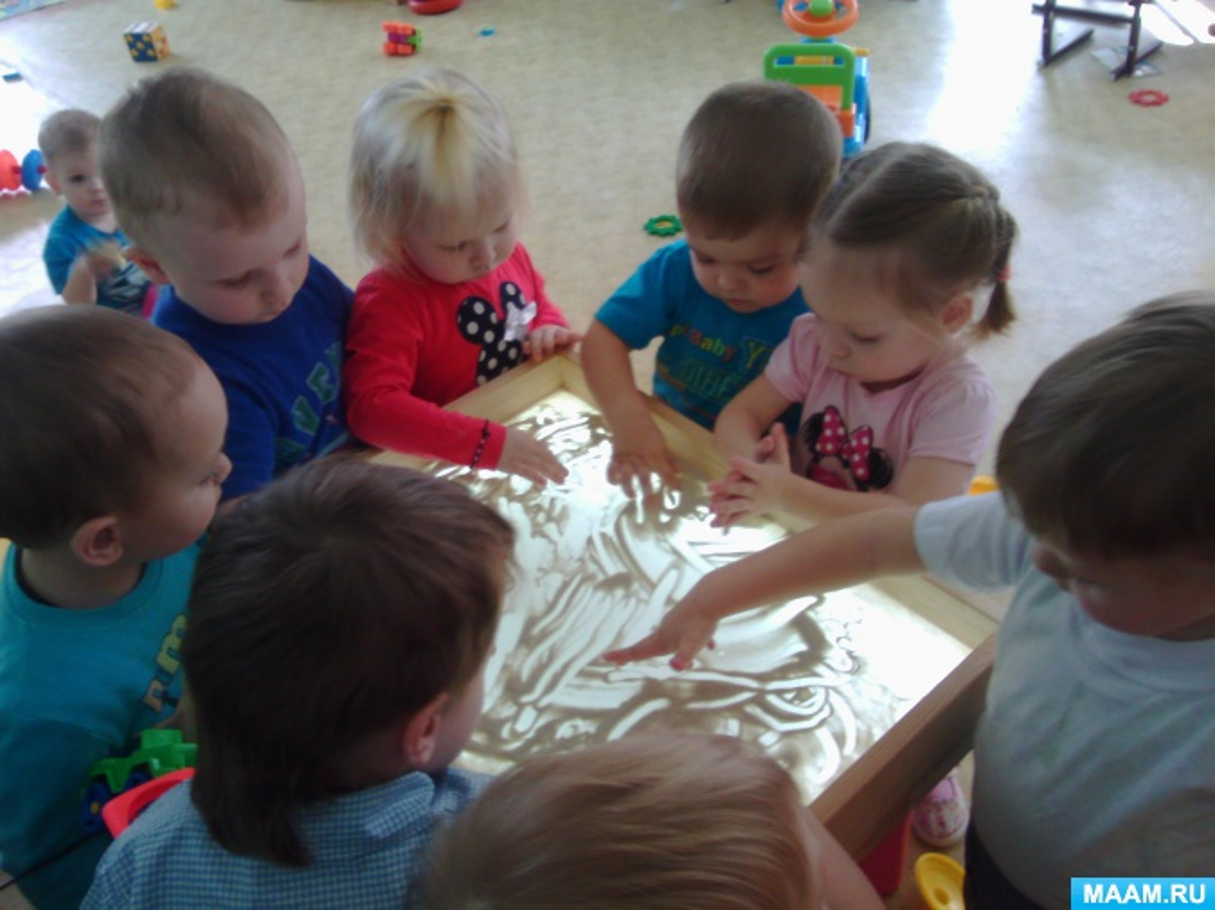 Организация и методика руководства играми с водой и песком в раннем возрасте
