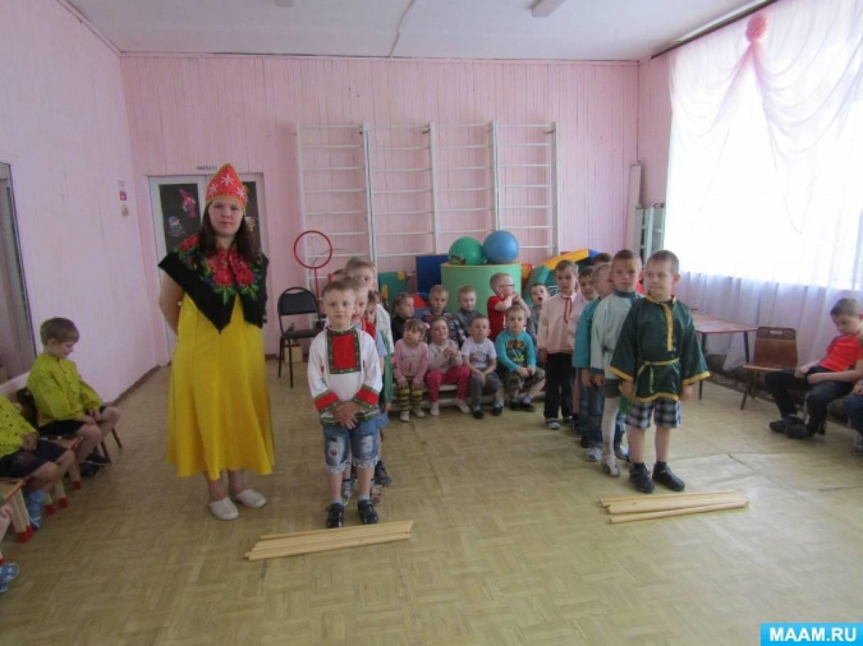 Фотоотчет «Русские посиделки в детском саду»