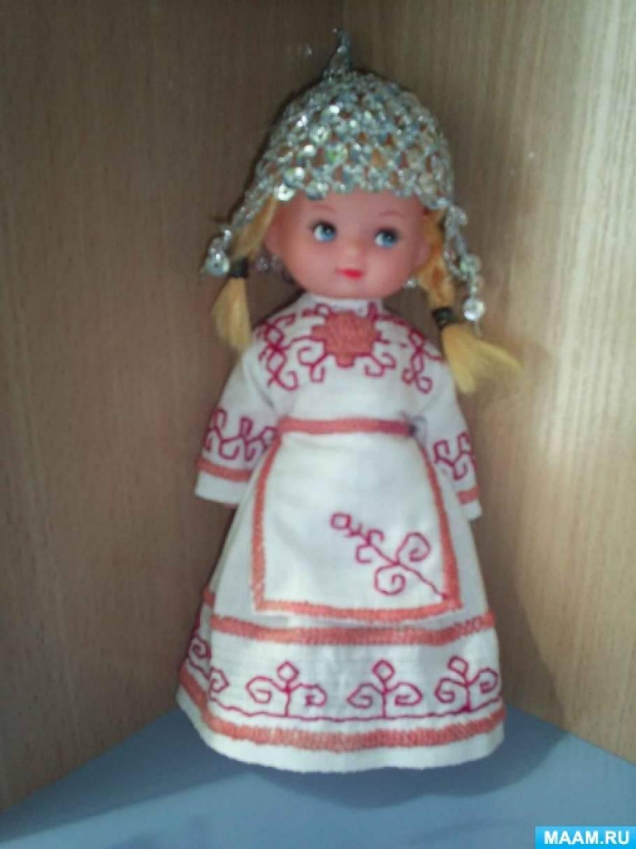 кукла в чувашском национальном костюме