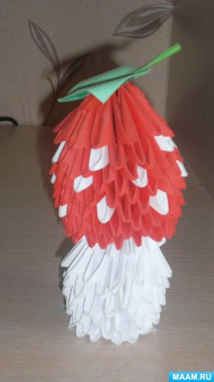 Фотоотчет «Использование модульного оригами в работе с детьми»