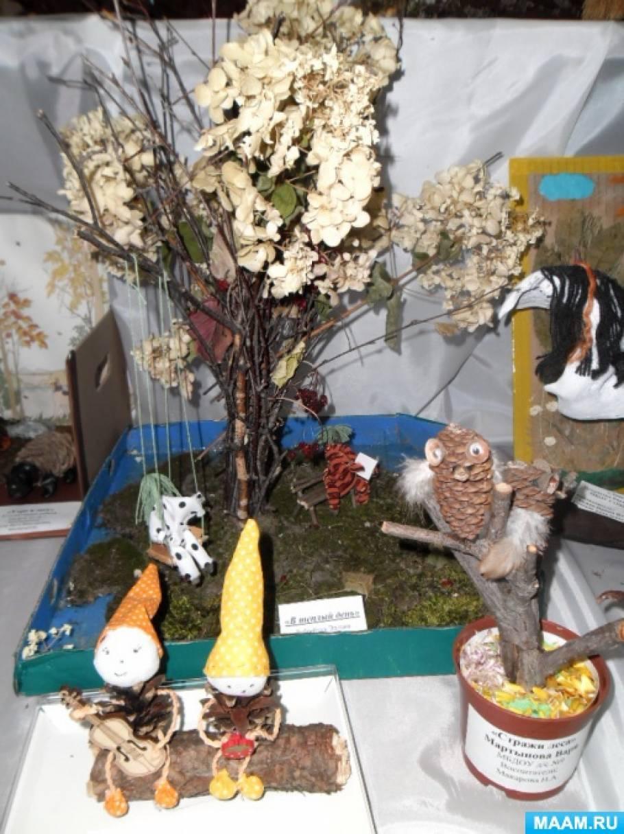 Поделки на конкурс зеркало природы поделки из природного материала