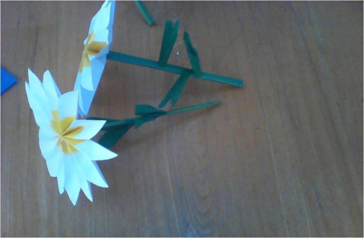 Цветы из бумаги. Мастер-класс «Ромашки» с детьми дошкольного возраста