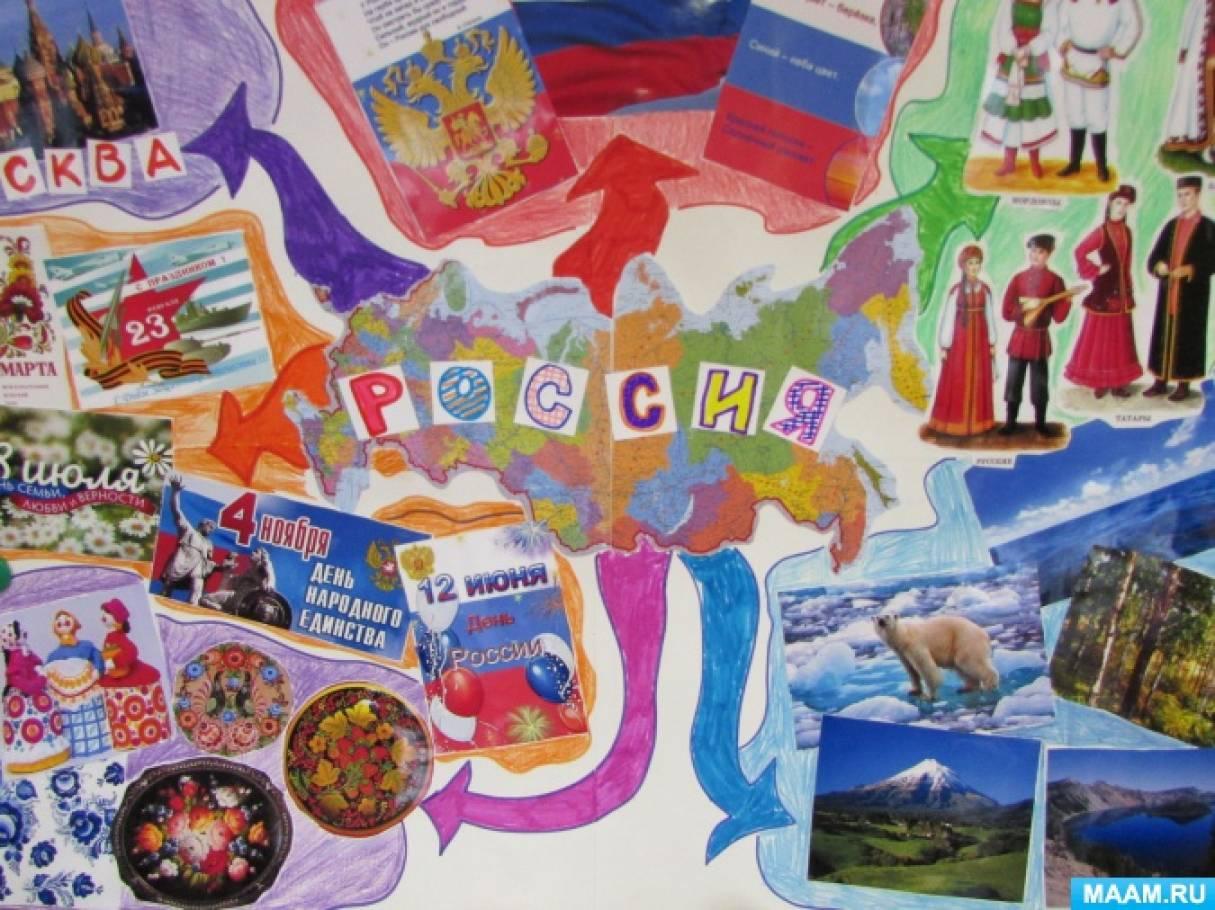 Интеллект-карта «Россия». Рекомендации для педагогов по созданию интеллект-карт в детском саду
