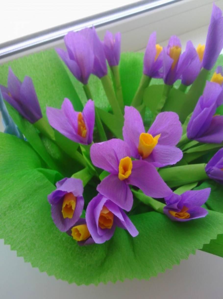 Поделки тему первоцветы