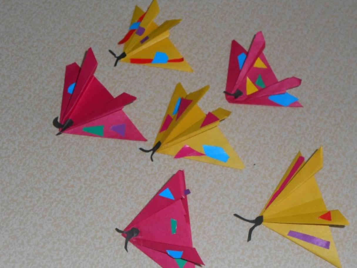 Кружковая работа по оригами в подготовительной группе