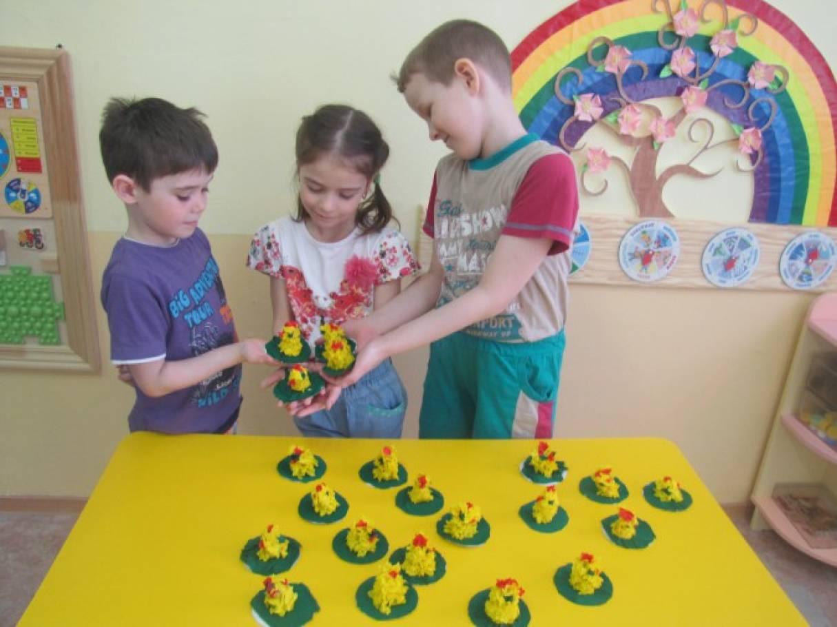 Непосредственно образовательная деятельность в подготовительной группе «Светлая Пасха» (фоторепортаж)
