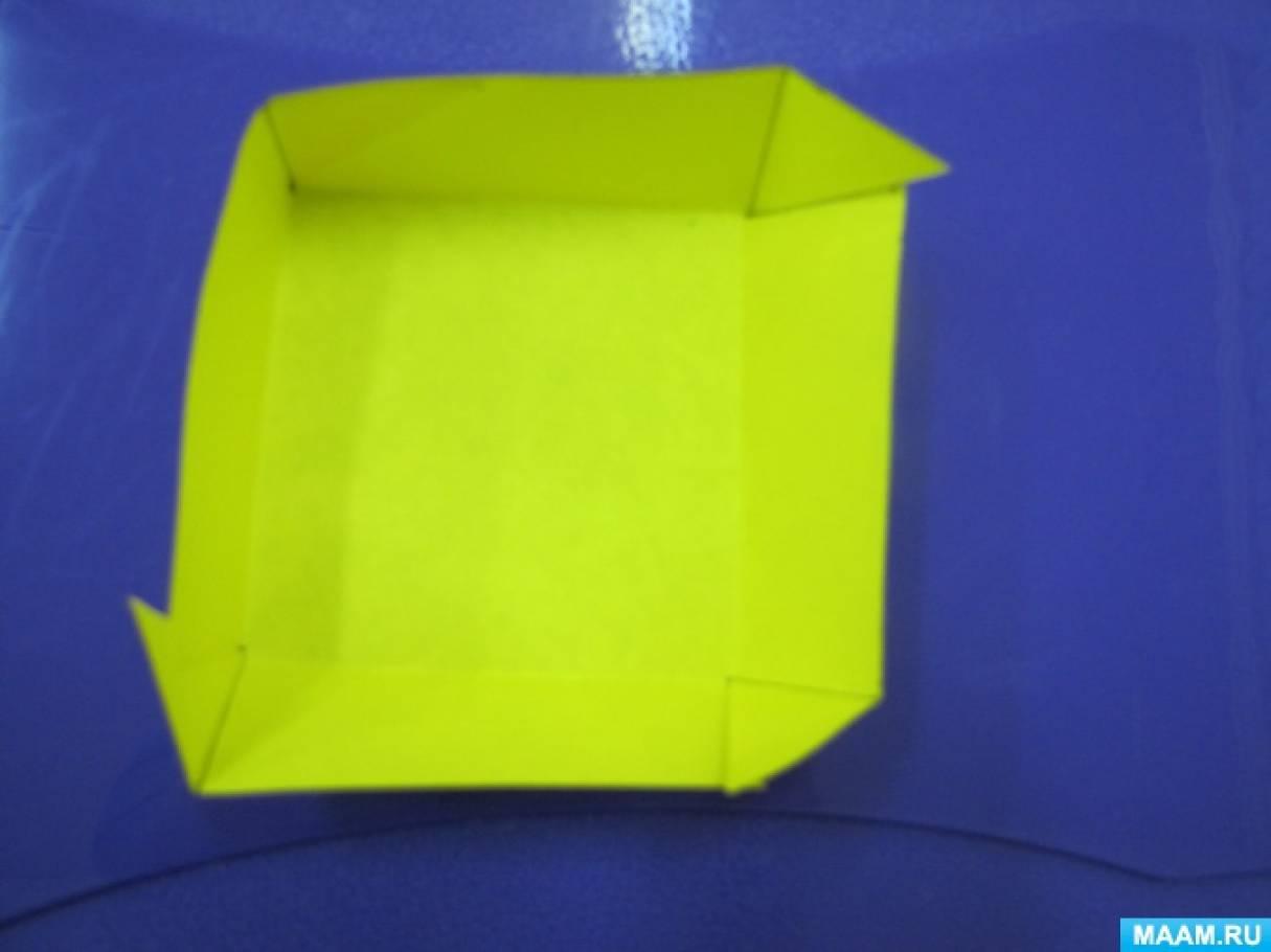 Как сделать крышечку для коробочки 51