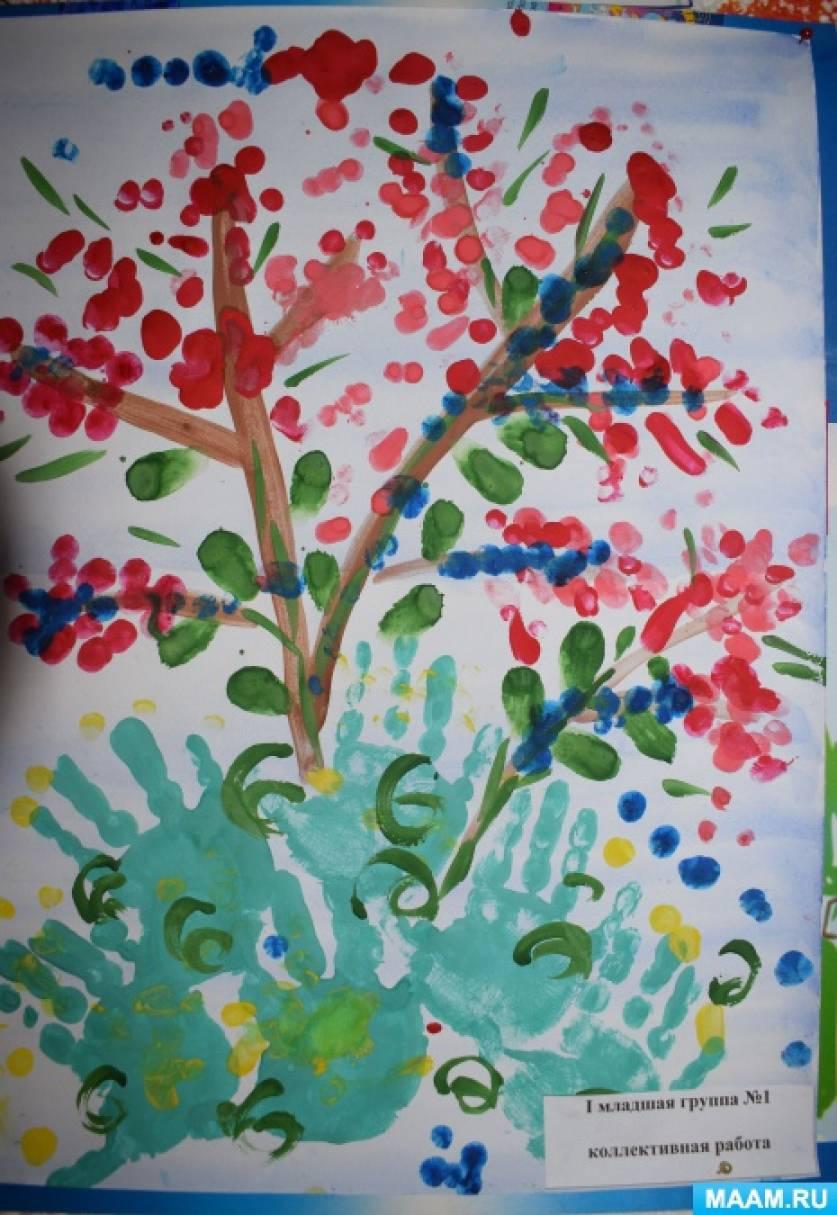 Фотоотчет о выставке рисунков «Наше лето»