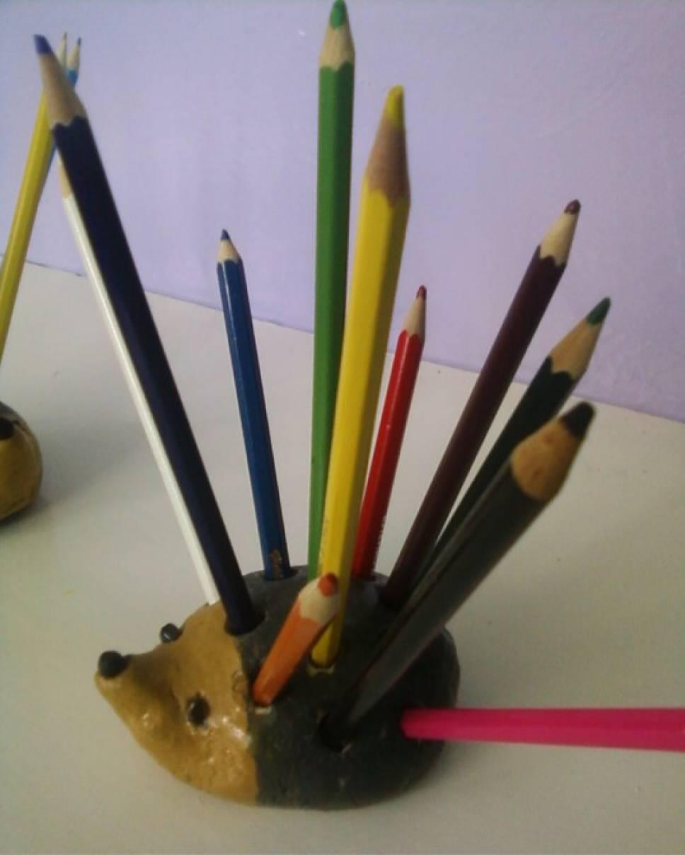 Как сделать стаканчик для карандашей своими руками фото 762