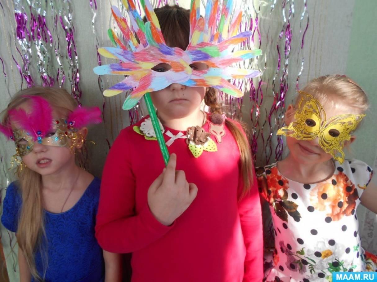 Новогодняя маска своими руками на конкурс