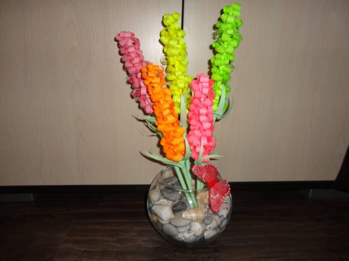 Цветы своими руками детский сад фото 349
