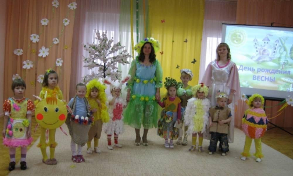 Модное дефиле в детском саду «Зеленая планета»