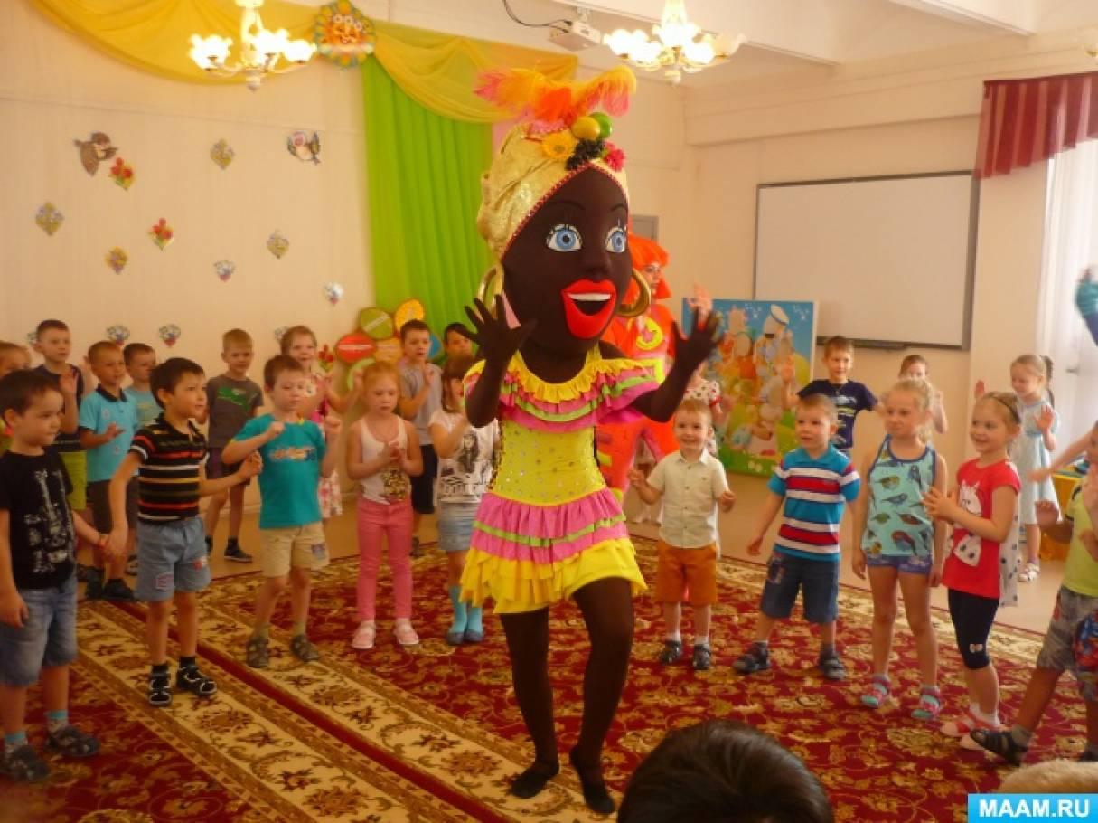 Фотоотчет «В детский сад театр приехал с удивительными героями!»