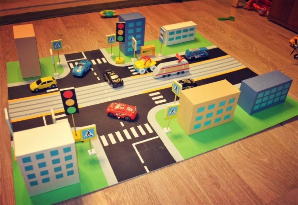 Картинки для детей макет города