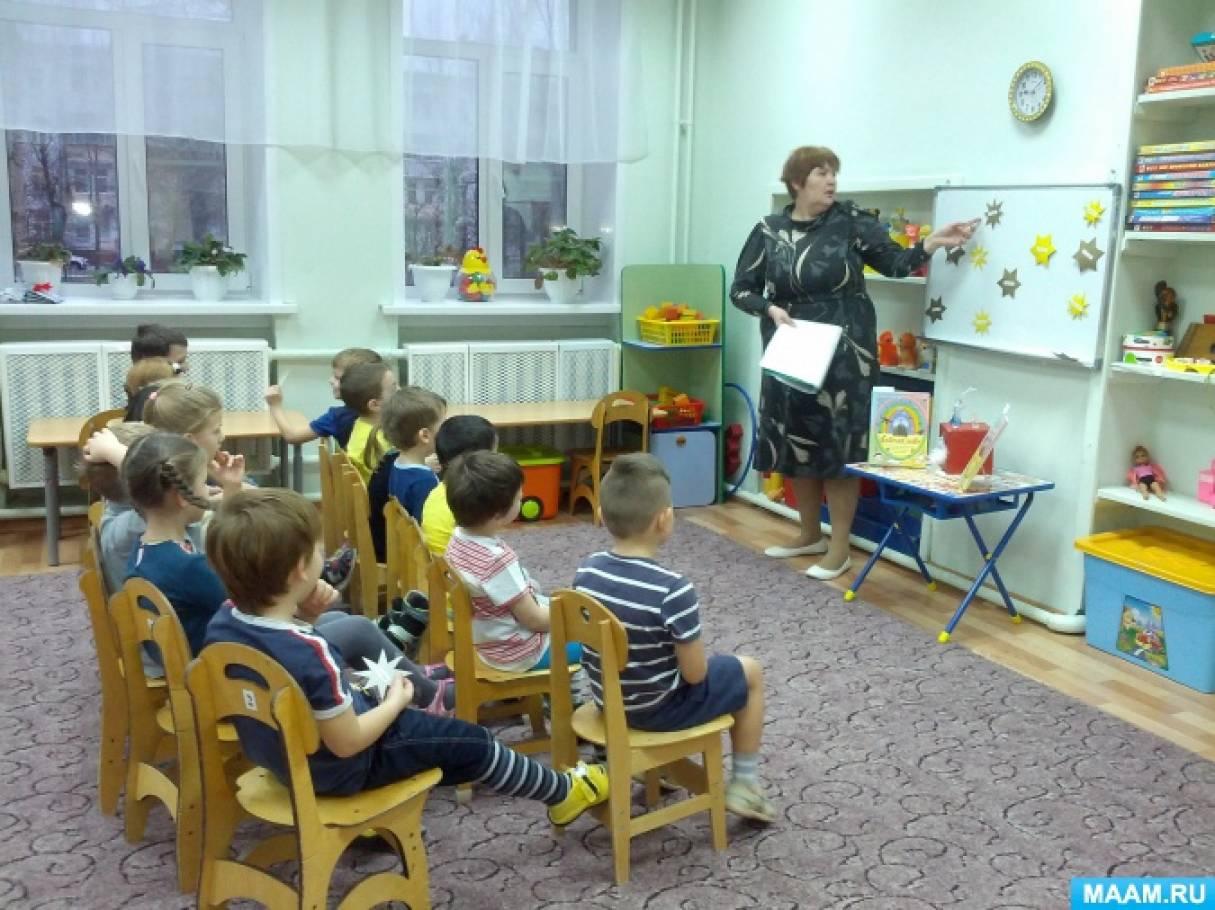 Конспект занятия «День Ангела. Небесные покровители» по программе «Добрый мир— православная культура для малышей»