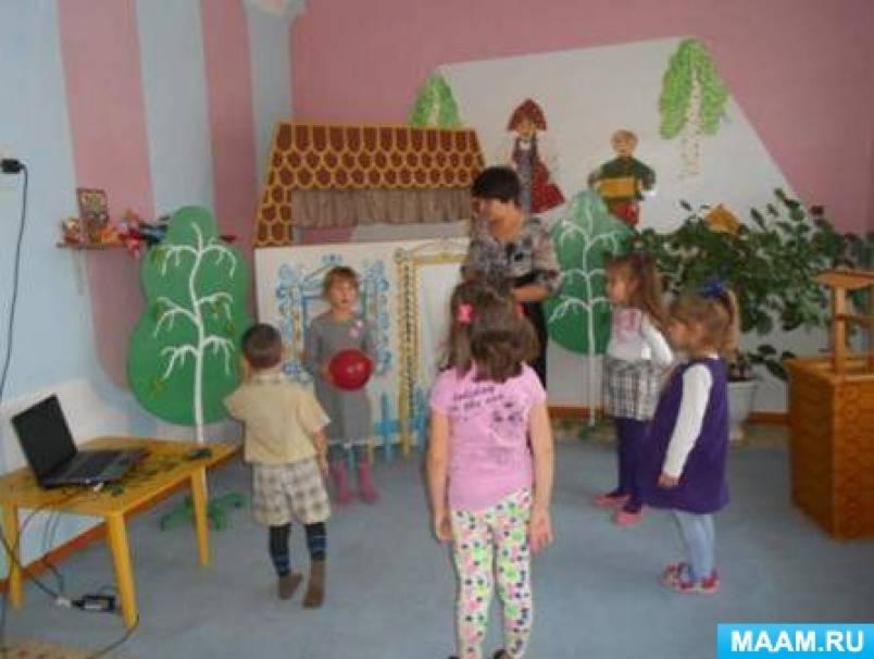 Конспект НОД по рисованию «В селе построены разные дома» (дети 5–7 лет)