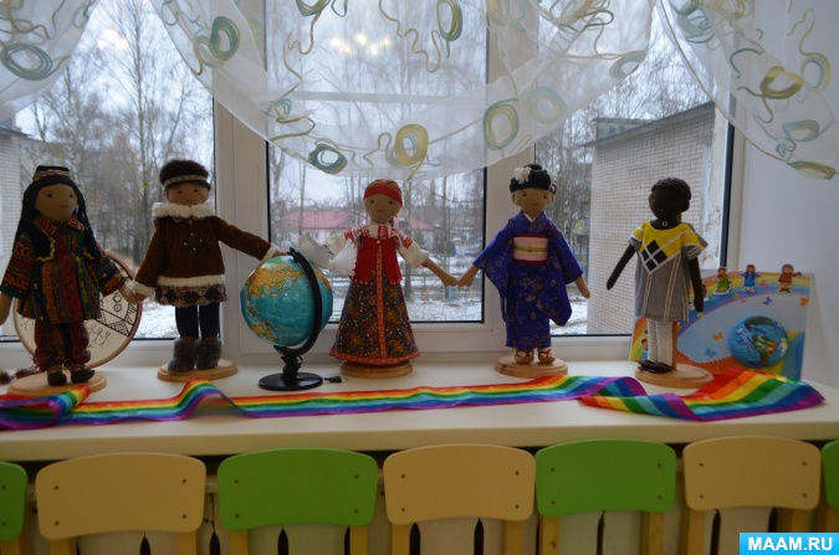 Сценарий фестиваля национальностей к Дню толерантности «Словно радуги цвета, мы едины навсегда»