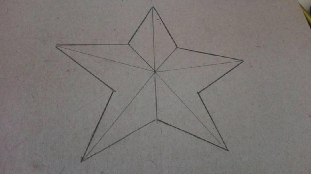 Наша родная армия открытка изготовление пятиконечной звезды, форме