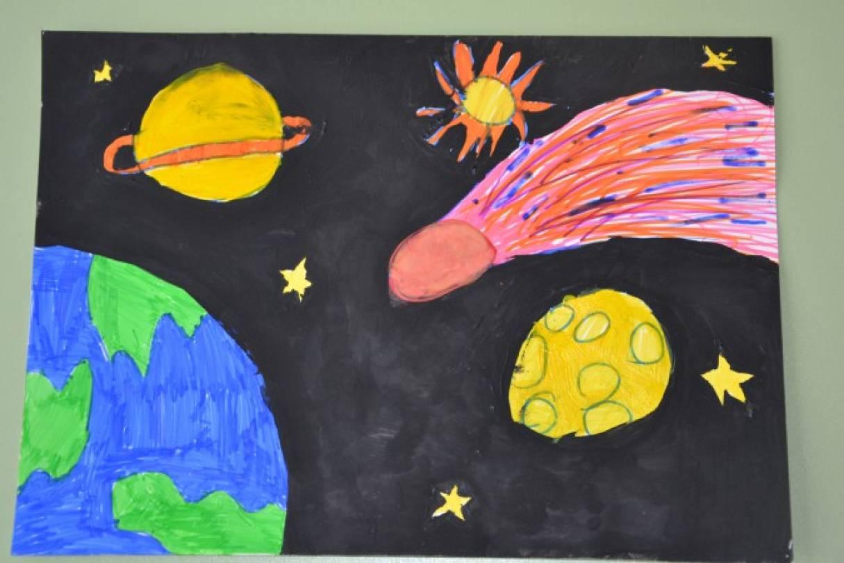 Детский конкурс посвященный космосу