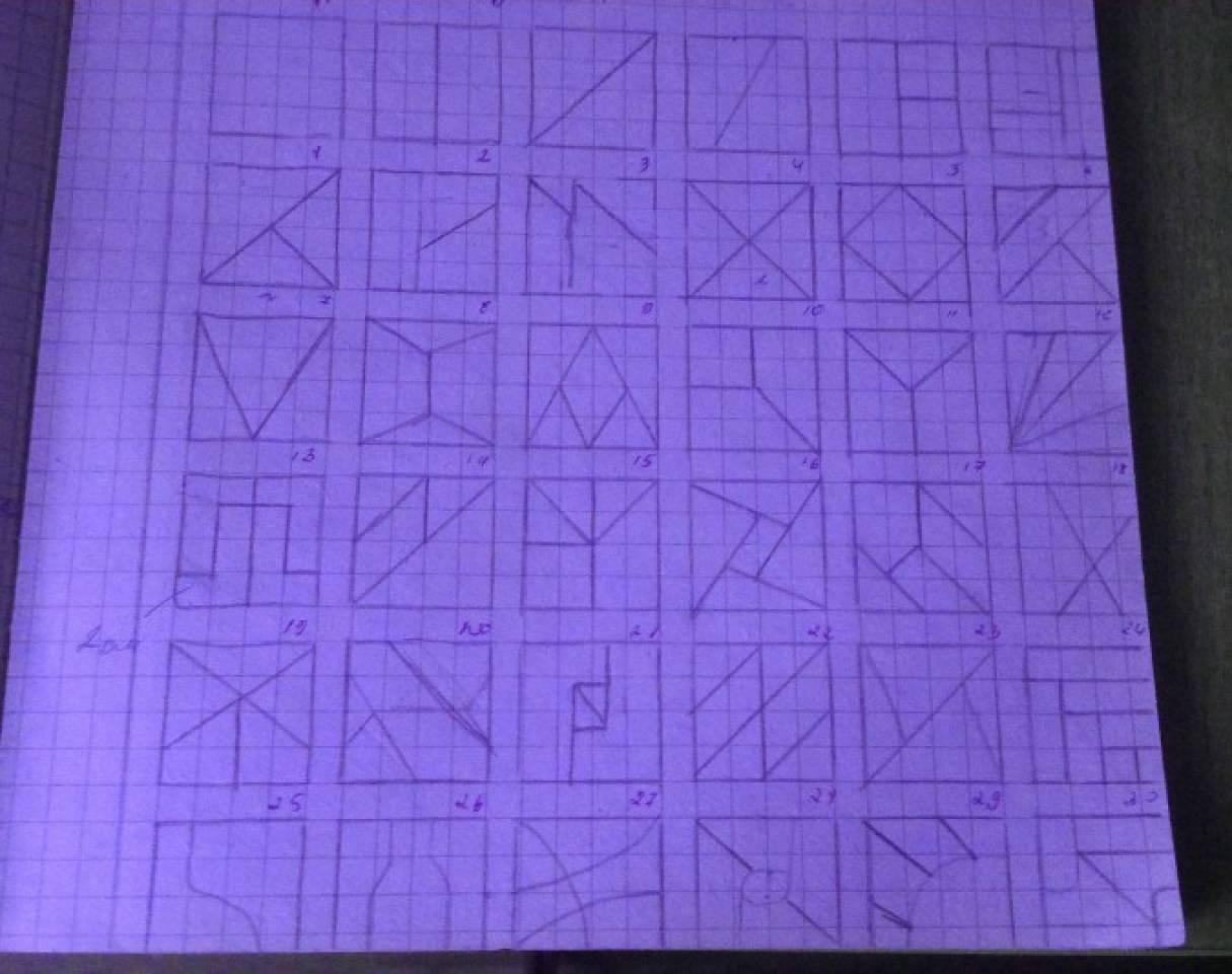 Дидактическая игра «Сложи квадрат»