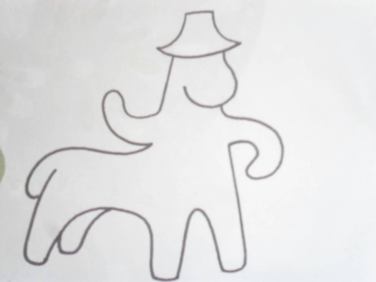 Конспект занятия по знакомству с Каргопольской игрушкой— роспись «Коня— Палкана» декоративными элементами