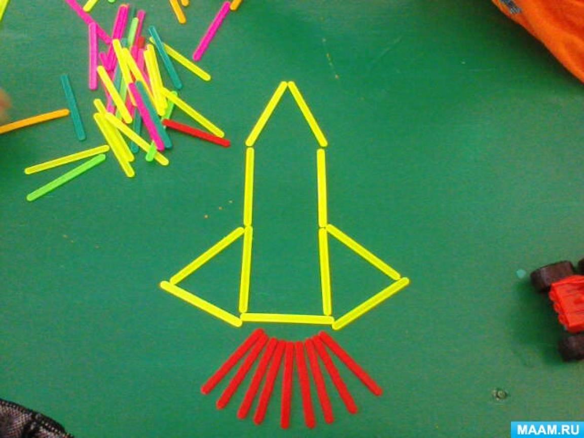 Игры со счётными палочками для развития мелкой моторики пальцев с детьми дошкольного возраста