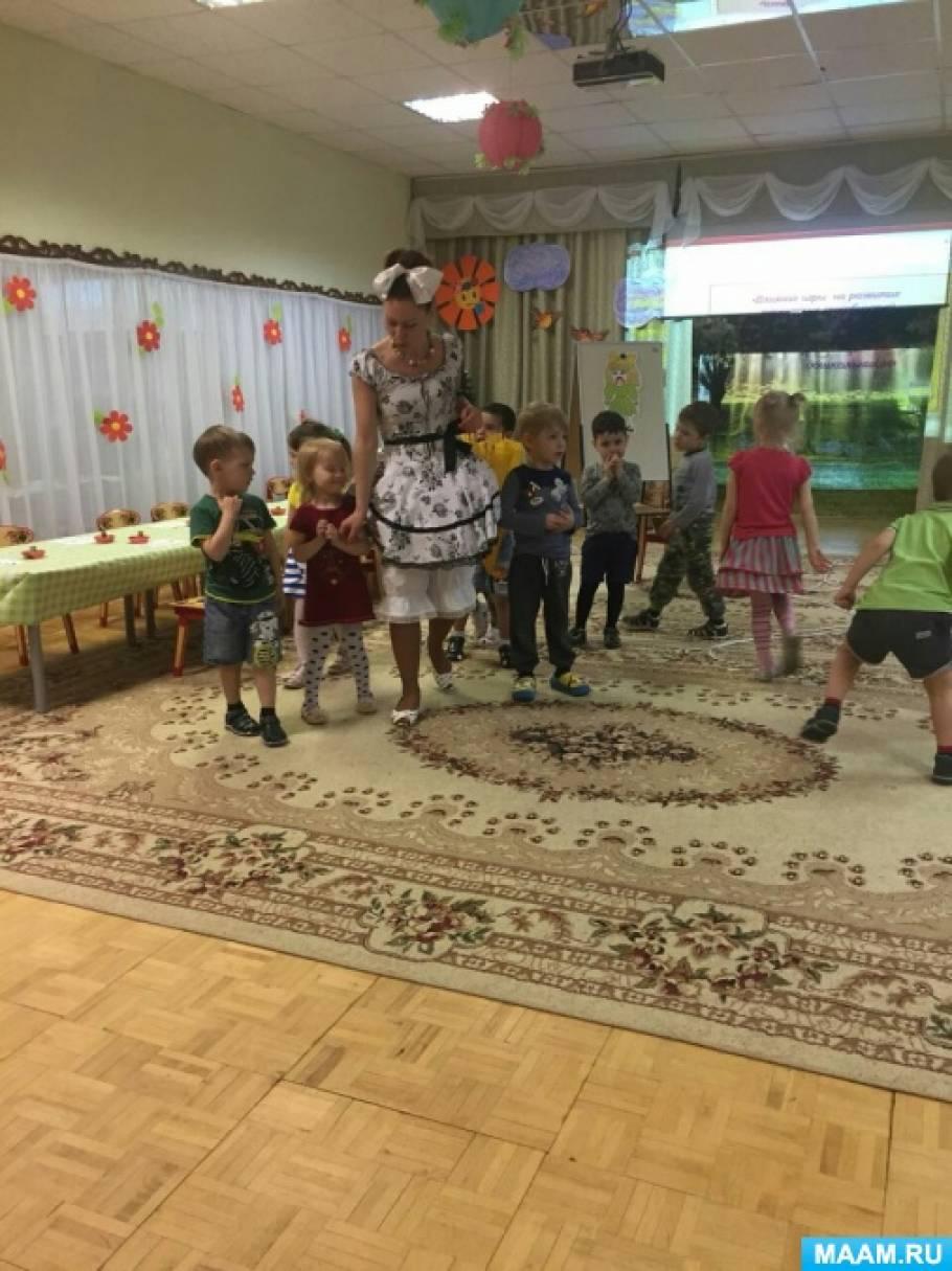 Конспект занятия во второй младшей группе по рисованию в игровой форме «Бусы для куклы»