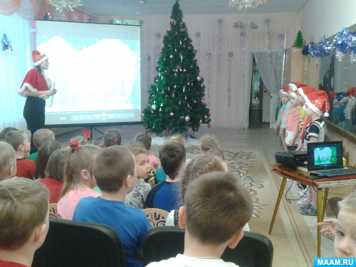 Конспект занятия «Празднование Рождества и Нового года в Англии»