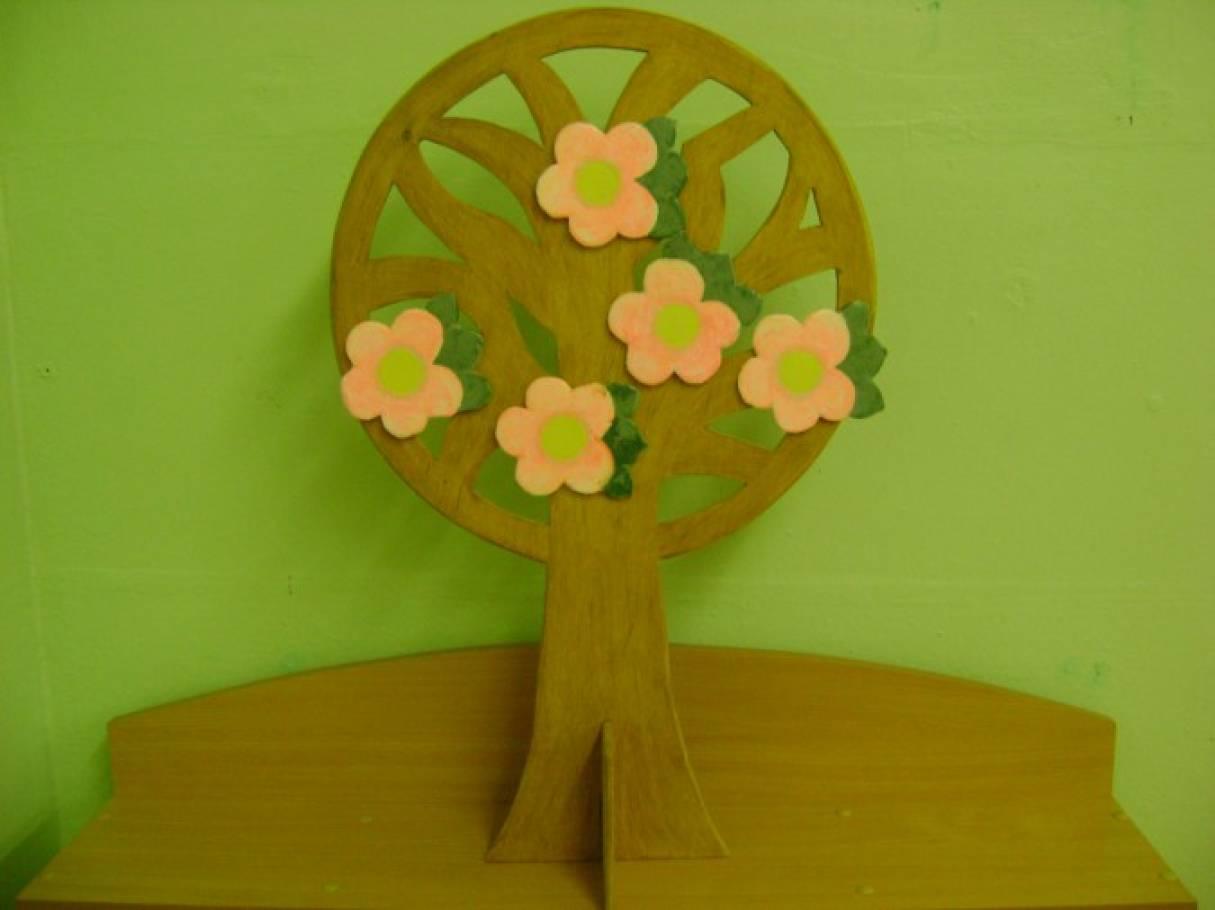 Макет. Дерево «Времена года»