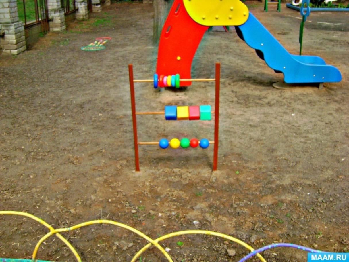 Счеты для детской площадки своими руками 19